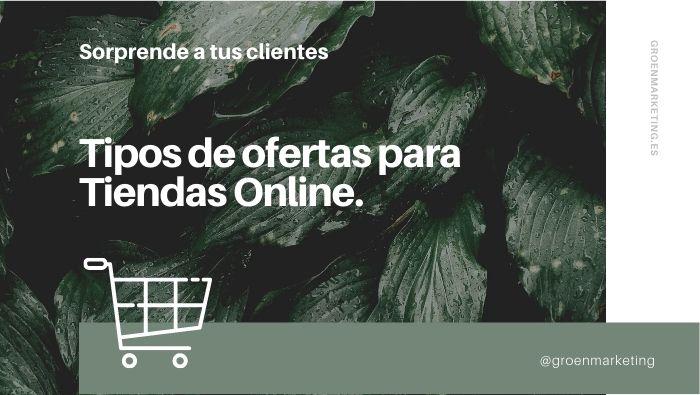Ofertas para tiendas online