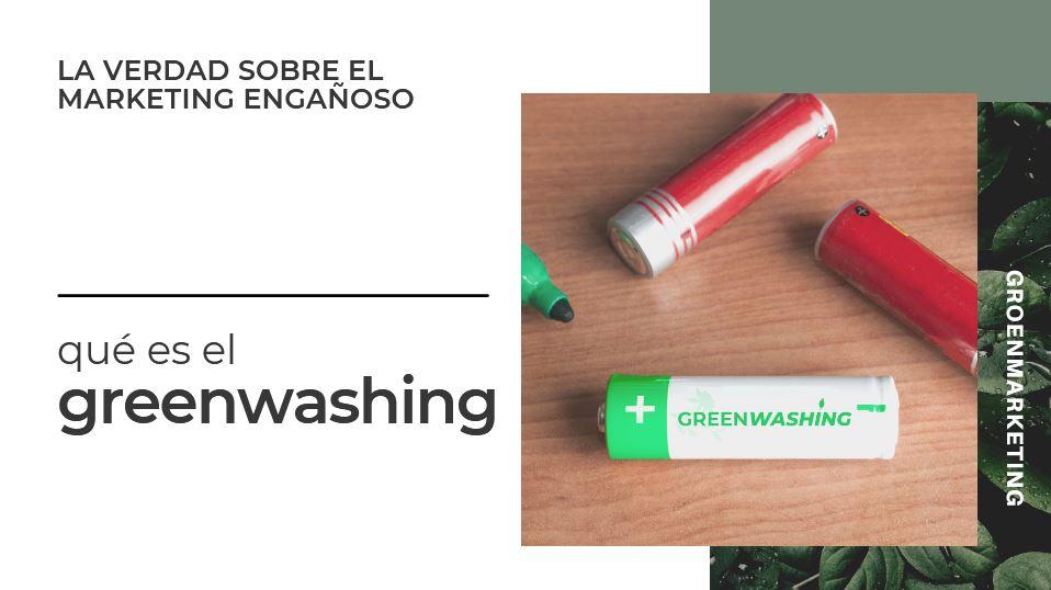 Qué es greenwashing